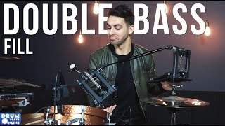 MONSTER Double Bass Fill - Drum Lesson | Drum Beats Online