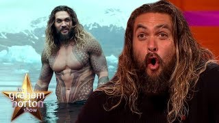 Jason Momoa Made A HUGE Mistake While Filming Aquaman | The Graham Norton Show