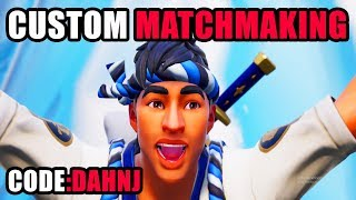 [NA WEST]CUSTOM MATCHMAKING | Fortnite Stream | #fortnite #streamer #tfue #ninja #lachlan #lazarbeam