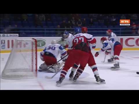 Apr 18, 2017 U18 WJC: Czechia 4-5OT Russia