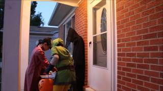 Halloween Trick or Treat Prank, 2016
