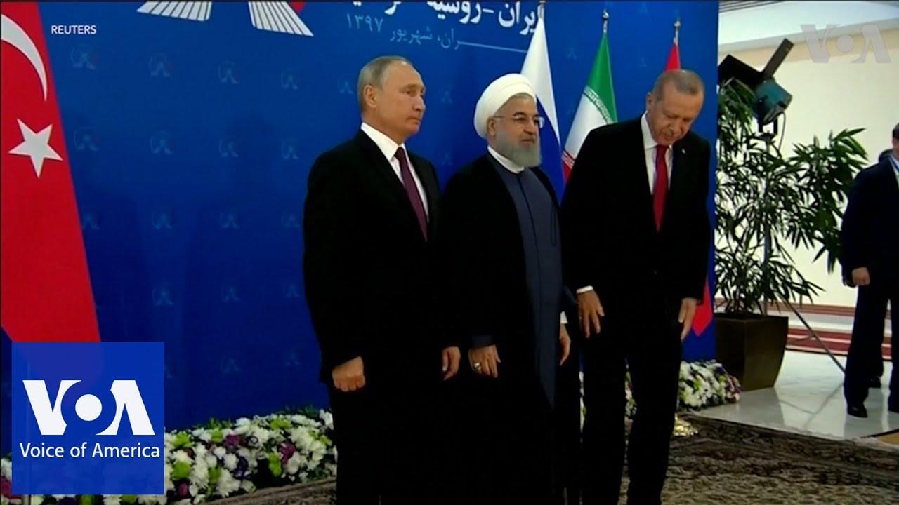 Putin, Rouhani and Erdogan Meet in Tehran