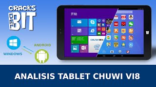 Tablet Chuwi VI8 Dual OS (Windows 8.1 + Android 4.4 ) - Análisis/Review Español