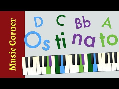 Music Theory: What's an Ostinato? | The Ostinato Song | Music Corner Breve