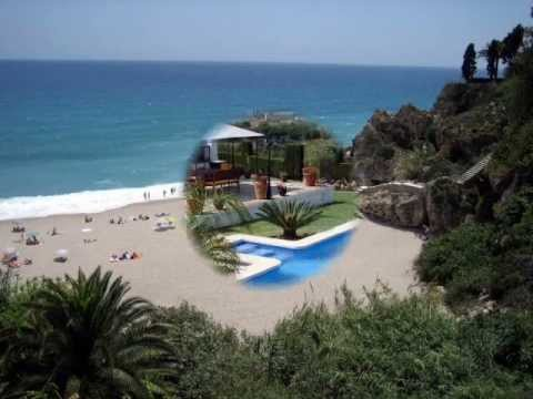 Nerja, Costa del Sol, Andalusia, Spain - playa, travel, tourism