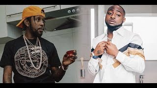 Davido ft. Popcaan - Risky (Lyrics Video)