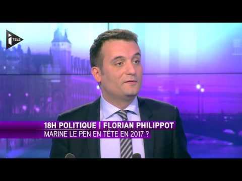 """F. Philippot """"mon seul objectif, faire entrer Marine Le Pen à l'Elysée"""""""
