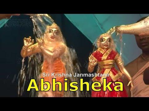 Sri Krishna Janmashtami Abhisheka 2015