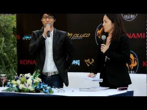 Hideo Kojima Dubai Press Conference and Signing event (Pluto Games and Geekay)