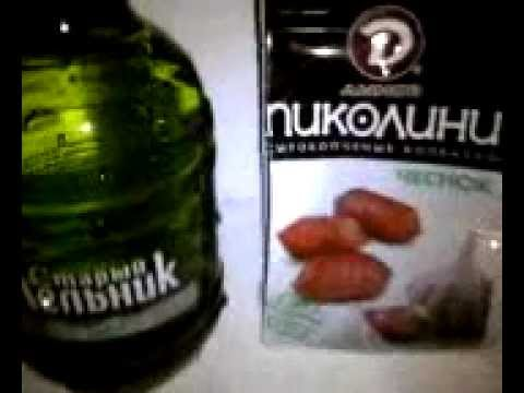 LQ, Rus - Пиво Старый Мельник и колбаски Пиколини