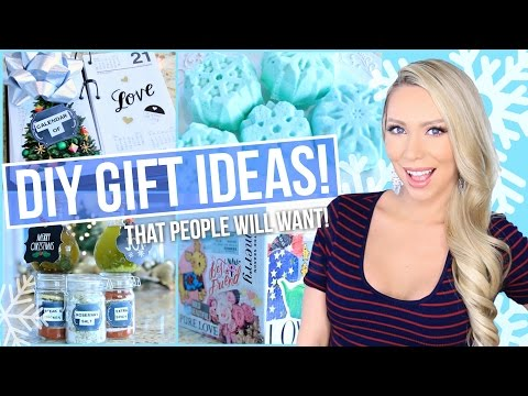 DIY Christmas Gift Ideas (That People Will ACTUALLY Want!)