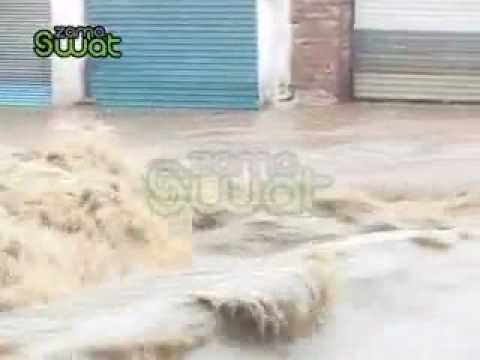 Swat Flood In Mingora Stream video