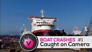 Accidentes de Barcos / Boat Crashes Caught on Camera