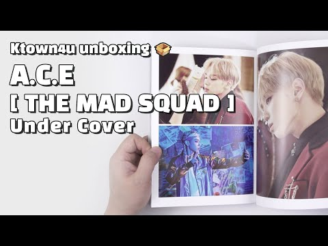 "Download Unboxing ""Under Cover: THE MAD SQUAD"" 3rd mini album, 에이스 언박싱 Kpop Ktown4u Mp4 baru"