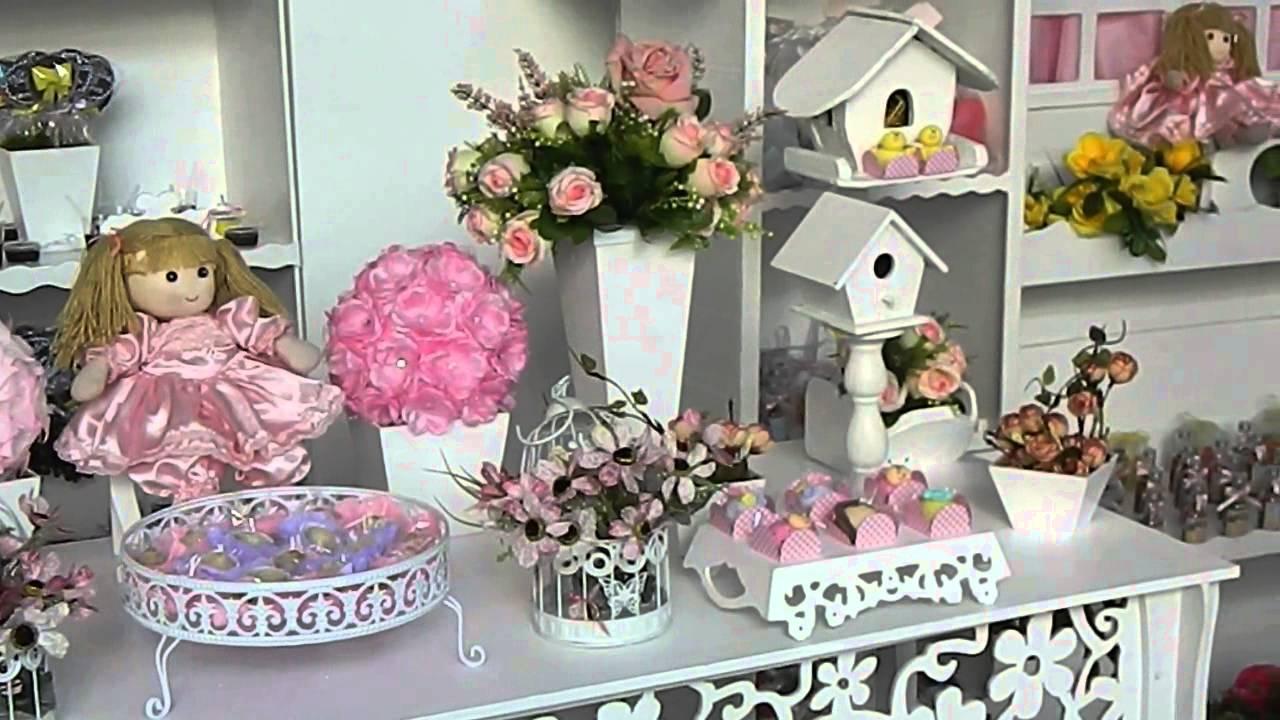 Festa Provençal Bonecas No Jardim (Aluguel Provençal RJ) – YouTube~ Mesa De Aniversario No Jardim