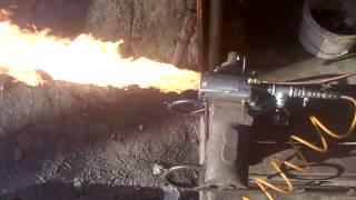 Arzator ulei uzat pentru centrala 80kw