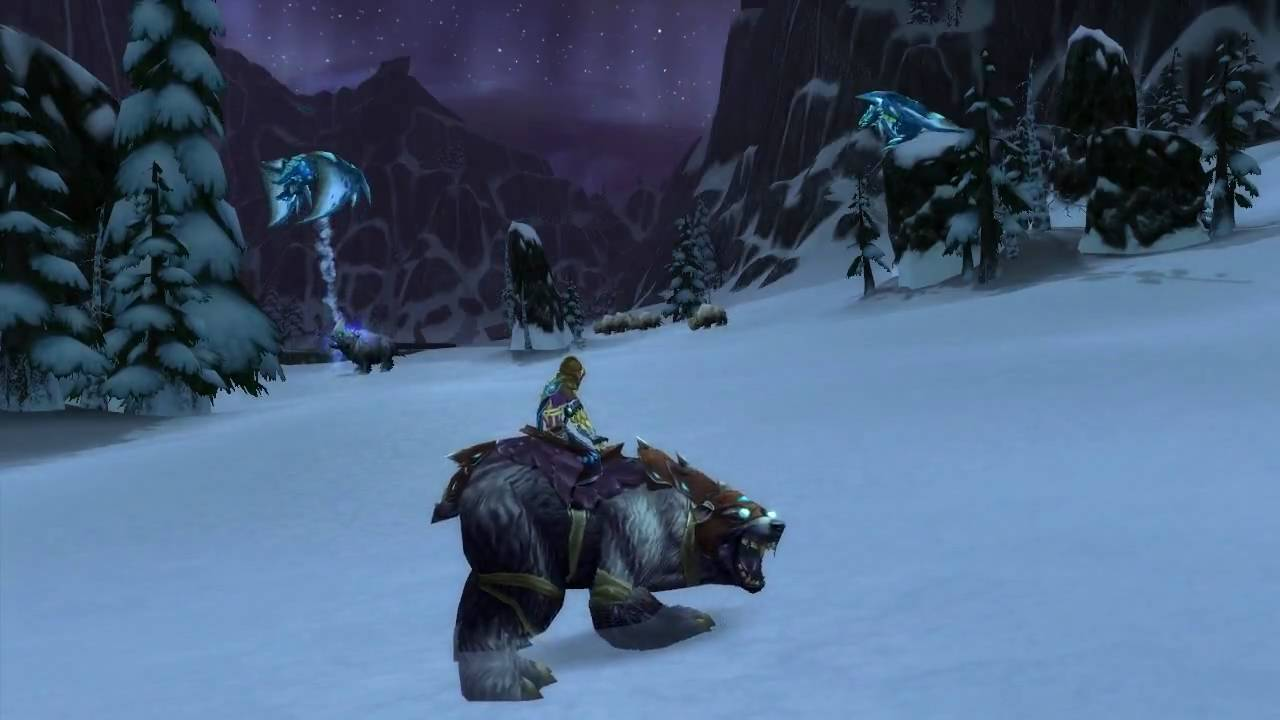 Black War Bear Wow Pvp Mount Black War Bear
