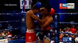 THE BRODAL Lao Chantrea Vs Rong Napha, CNC Khmer Boxing, Kun Khmer 2018