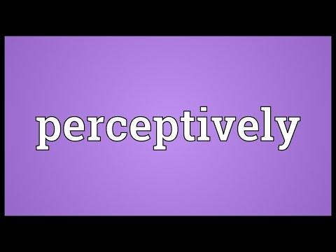 Header of perceptively
