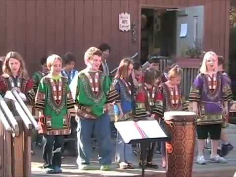 Cliff Valley School - World Music Ensemble 11-2-08