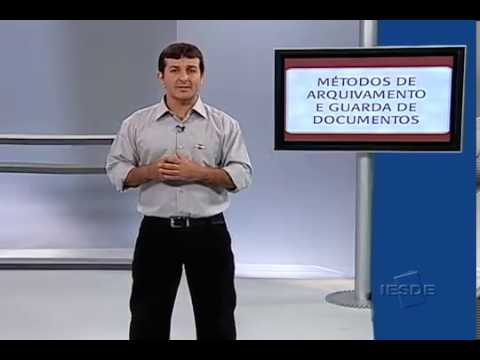 Método de arquivamento e guarda de documentos