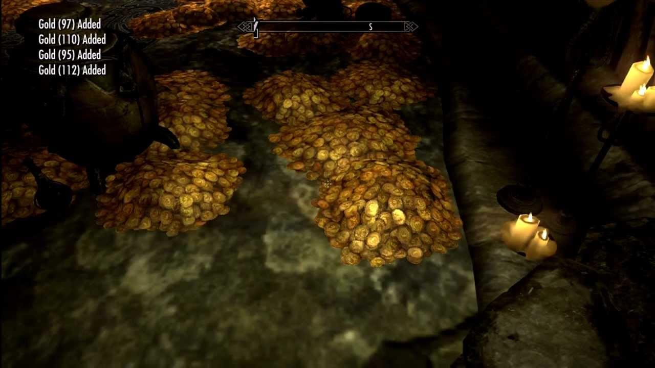 huge treasure room in skyrim