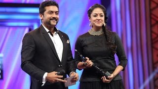 Surya Jyothika in Filmfare 2016 - Best Actress award to his wife (pondatti)