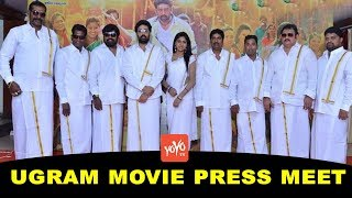JD Chakravarthy's Ugramm Movie Press Meet | Amma Rajasekhar | Chammak Chandra | Kiraak RP