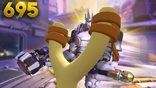 Rein In A GIANT Slingshot!! | Overwatch Daily Moments Ep.695 (Funny and Random Moments)