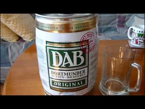 DAB Original Mini-keg - DM's Montreal Beer Review (7.7/10)