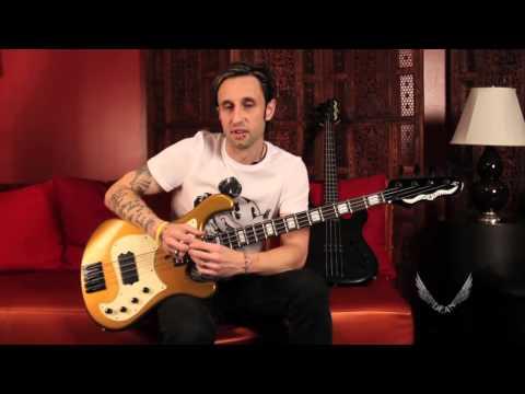 Eric Bass of Shinedown: Making of the Dean Hillsboro Electric Bass Guitar