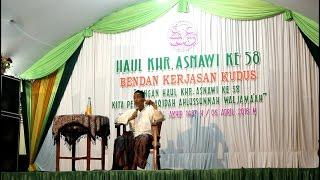 HAUL KHR. ASNAWI 58 bersama Habib Umar Muthohhar dan KH Abdul Qoyyum Manshur
