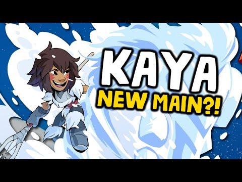 Brawlhalla - KAYA, MY NEW MAIN! [Experimental Gameplay]