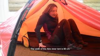 Hilleberg Akto - Nordic Outdoor Sizing Guide