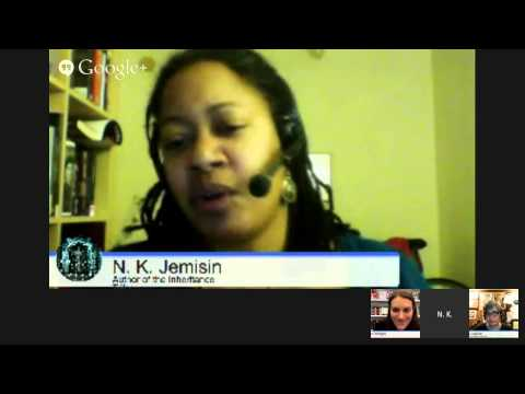 N.K. Jemisin discusses the Broken Earth trilogy