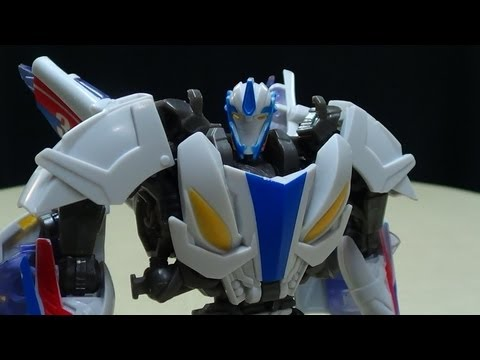 Transformers Prime Beast Hunters Deluxe SMOKESCREEN: EmGo's Transformers Reviews N' Stuff
