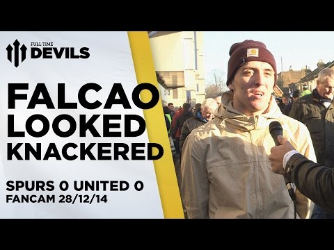 Falcao Looked Knackered | Spurs 0 Manchester United 0 | FANCAM