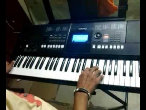 mere rang mein rangne wali on keyboard