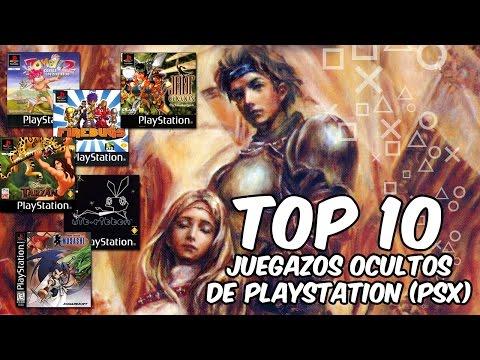 Top 10   Grandes juegos desconocidos de PlayStation (PSX)