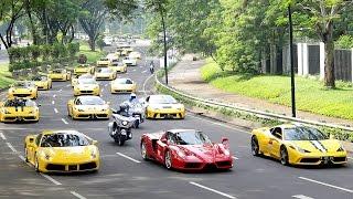 Ferrari Festival of Speed - A Celebration of Ferrari 70th Anniversary in Indonesia