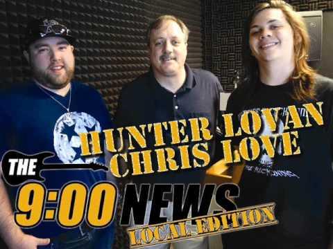 9 O Clock News Local Edition - Hunter Lovan Chris Love