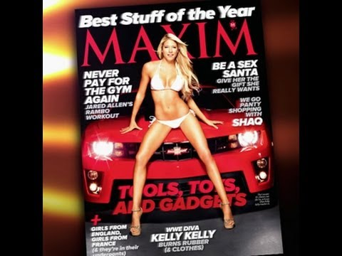 Raw - Kelly Kelly appears on the cover of