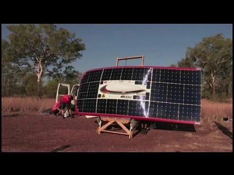 Stanford students create solar-powered car