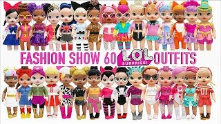 Play Doh 60 BABY ALIVE Fashion Show L.O.L. Surprise Doll Inspired Outfits