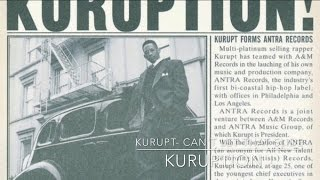 Watch Kurupt Cant Let That Slide video