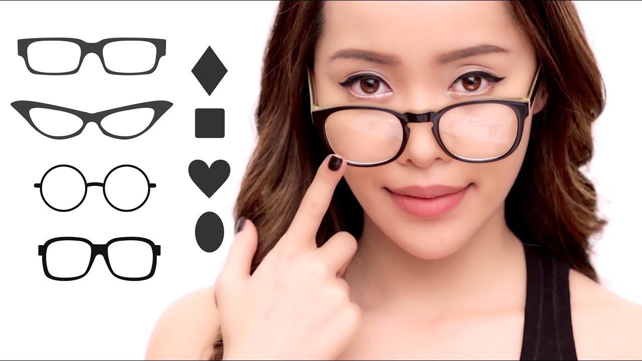 Best Glasses Frame For Face Shape : The Best Glasses For Your Face Shape - YouTube