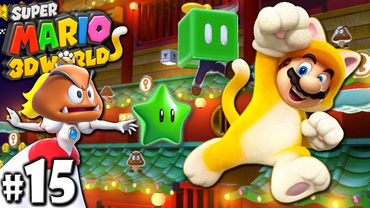 Super Mario 3D World 2P Co Op Secret Bowser Train PART