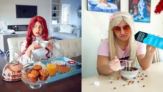 High School Morning Routine! *Rich vs Normal*