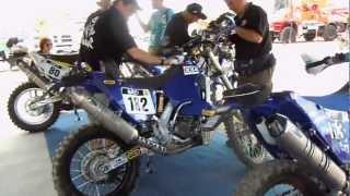 Dakar 2013 Ultimi controlli alle moto del Team Franco Picco