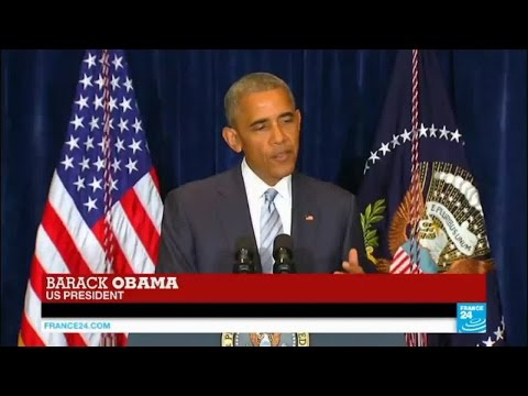 """US president Barack Obama on police violence: """"it's not a Black issue, it's an American issue"""""""